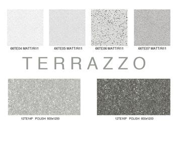 Ebro Ceramic Smart Floor Tile With 3 D Picture Terrazzo Look Porcelain Tile 60x60 60x120 Buy Smart Floor Tile Terrazzo Look Tile Porcelain