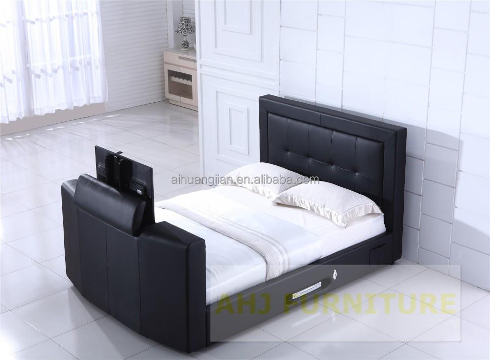bed with tv lift bedroom tv cabinet hidden crisp. Black Bedroom Furniture Sets. Home Design Ideas