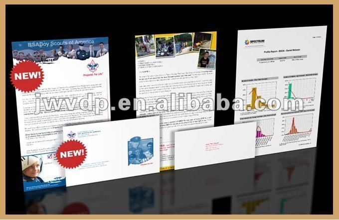 High Grade Direct Mail Printing With Variable Data Printing