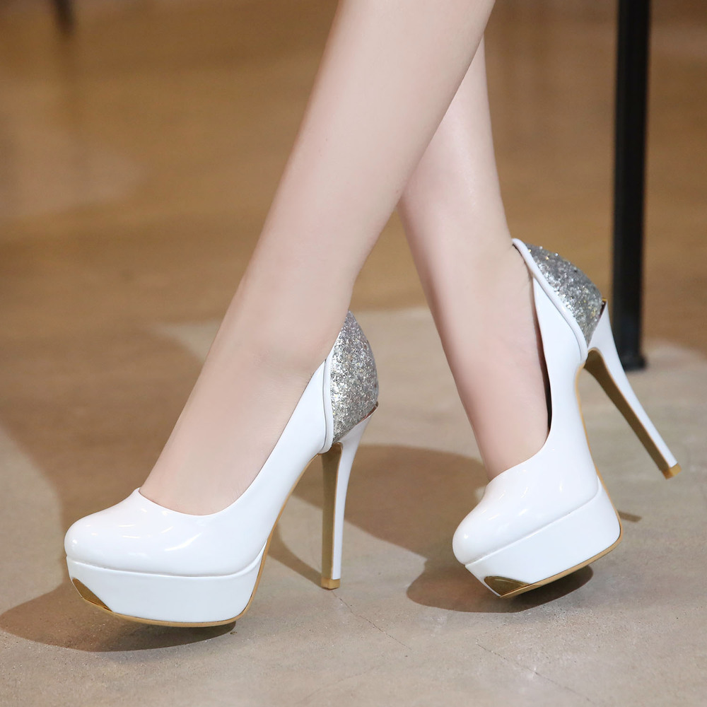 Shop bridal white shoes for Women, cheap discount prices on white shoes at sisk-profi.ga Buy white platform shoes in sued, lace, and patient PU on several different styles like white peep toe pumps, rhinestone sandals and wedges.