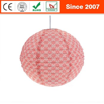 Creative fashion modern fabric indoor wedding decoration pendant lamp