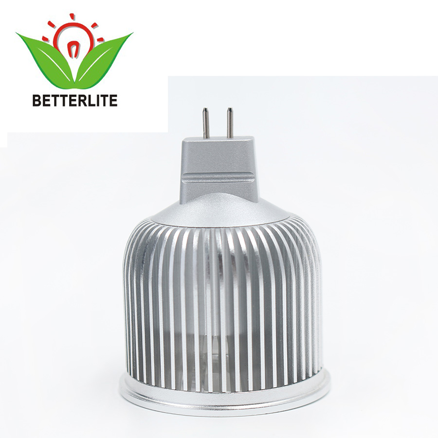 12V GU5.3 housing bulb 6W dimmable mr16 led down light for ceiling spot light