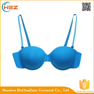 HSZ-58049 Beautiful Transparent Ladies Comfortable Sexy Boobs Bra Underwear Extra Large