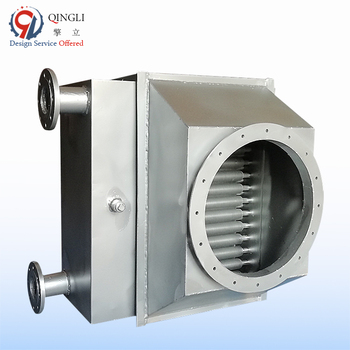 Industrial stainless steel 304 flue gas heat exchanger for boiler