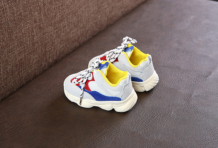Hot selling little girl kids sports shoes