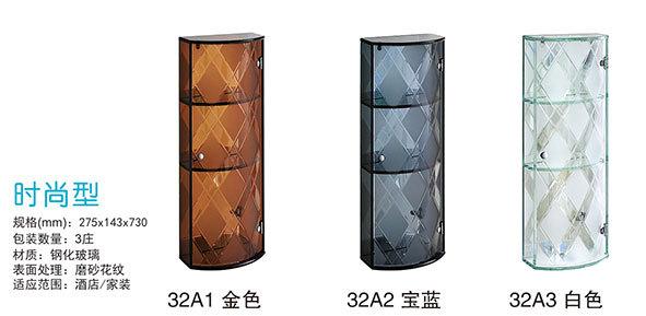 Drie Lagen Chinese Fabrikant Waterdicht Transparant Glas Douche Kast ...