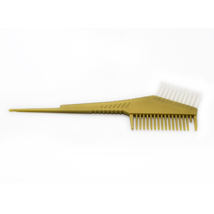 Salon Professional Hair Tinting Brush With Plastic Hair Dyeing Comb