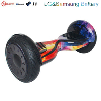 Factory wholesale UL2272 Smart Balance 2 Wheel 10 inch Hoverboard Electric Scooter with bluetooth
