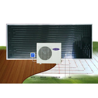 THERMODYNAMIC SOLAR SYSTEM GROUND UNDERFLOOR SOLAR FLOOR anhydrous ground UNDERFLOOR HEATING