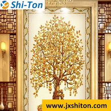 foshan design 3d tiles flooring cheap rate for living room and bedroom
