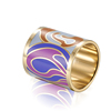 Wholesale Latest Jewelry Accessories Stainless Steel Ring Enamel Design Women Scarf Buckle