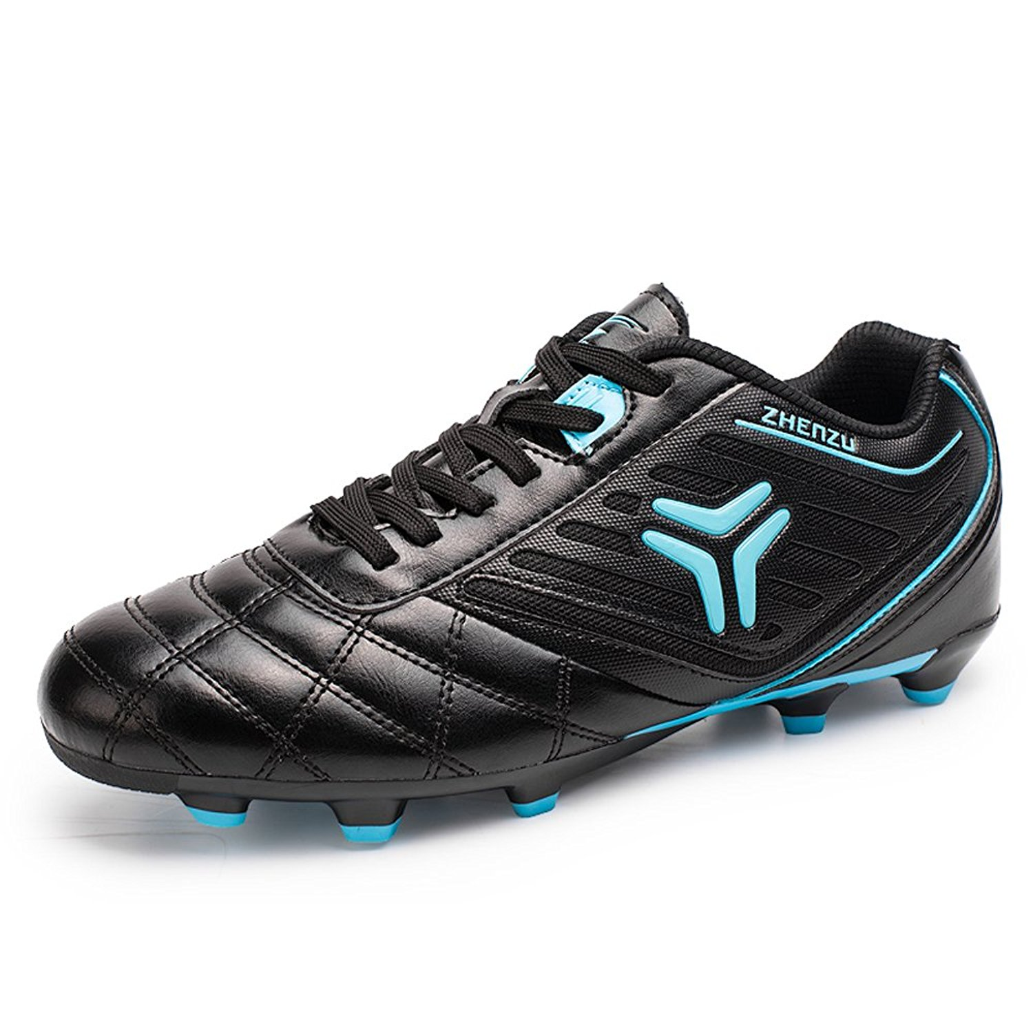 Get Quotations · Anduode Boys  Firm Ground Soccer Cleats Football Shoes  Soccer Shoes 54bdaf8582746