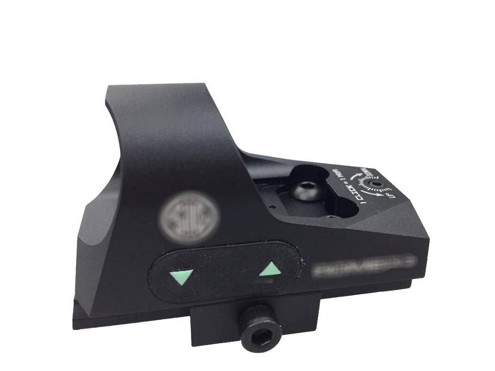 SPINA OPTICS Mini 1x25 Tactical Hunting Scopes Rifle Reflex Sight Shockproof Shot pistol Red Dot