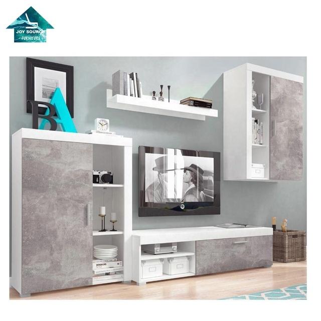 Modern Living Room Furniture Set Tv Wall Unit Cabinet Display Shelf Buy Tv Stand Furniture Living Room Tv Stand Wall Units Designs Tv Stand Modern Product On Alibaba Com