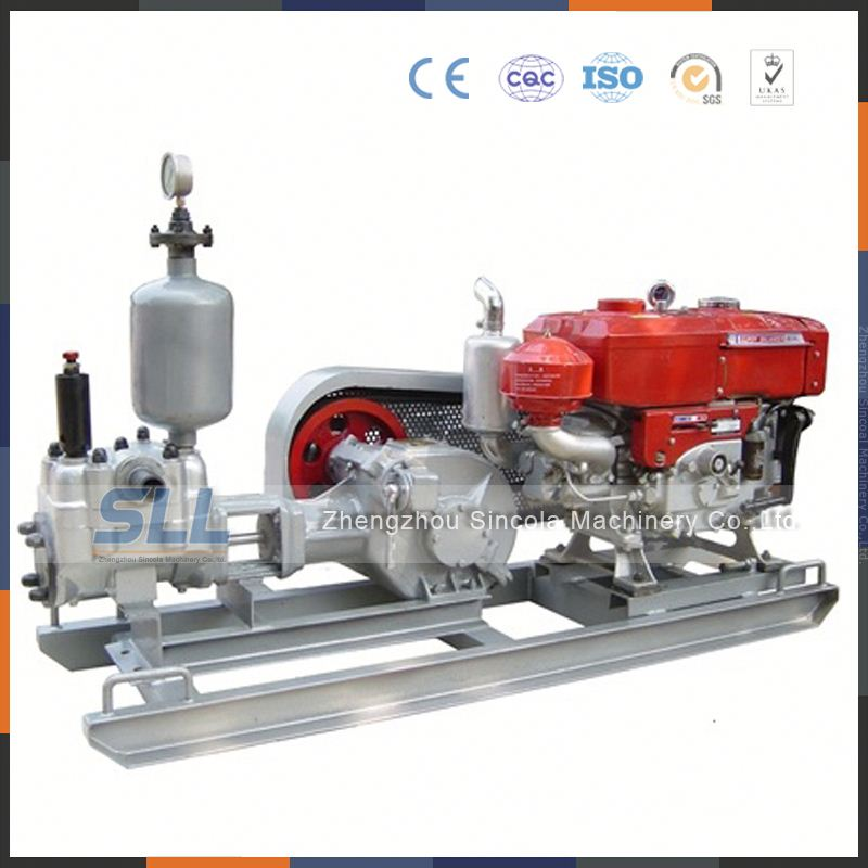 Chinese factory CE Pneumatic piston grouting pump for coal mine