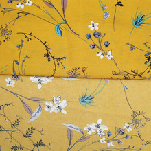 100% polyester 150cm floral digital printed chiffon fabric stocklot CUTTING FLOWER PAPER PRINTED FABRIC