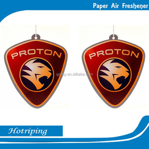 Factory OEM/ODM car air freshener wtih perfume paper wholesale make hanging paper car air freshener