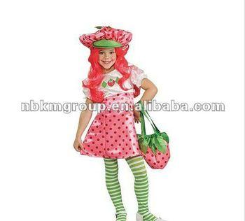 Strawberry Shortcake Deluxe Baby Girl's Costume - Buy Baby Girl's ...