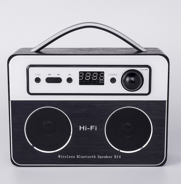 1500mAh V4.2 Wireless BT Portable DAB Radio HIFI <strong>Speaker</strong> With LCD Screen