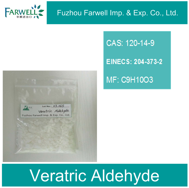 Farwell Professionally Supply Veratric Aldehyde, 3 4-dimethoxybenzaldehyde 120-14-9