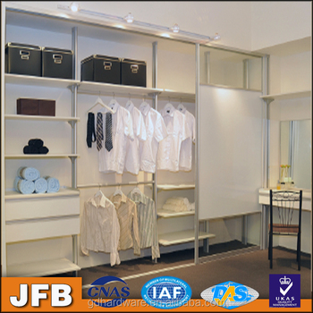 Bedroom Closet Shelving System Aluminum Wardrobe Walk In Wadrobe Storage  Aluminium Pole Wardrobe Malaysia
