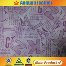 New design breathable pu synthetic leather for shoes,cheap price leather for making fashionable shoes