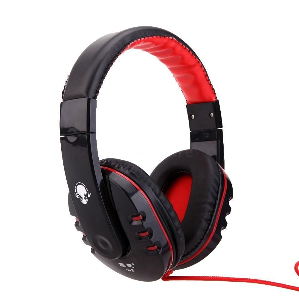 Computer Headset with Microphone Professional Gaming Game Headphone Hifi Stereo Headset for Cs Dota2 Pc Computer Pc Gaming Headset