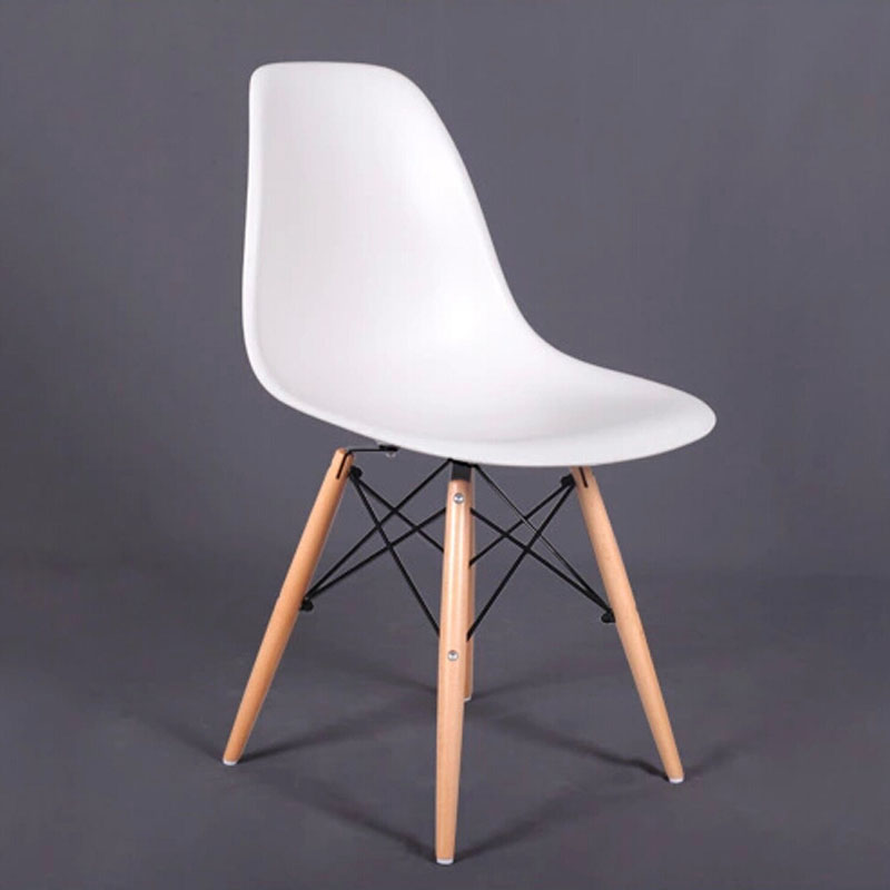 Us 80 0 Factory Pp Dining Chair Living Room Furniture Beech Wood Dowel Legs Side In Chairs From On Aliexpress