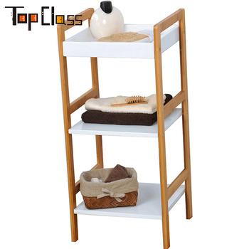 3 Tier Wooden Bathroom Shelf