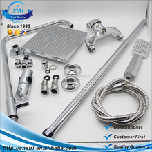 High quality chrome brass finish inspired tub shower set for faucet with shower head S1005