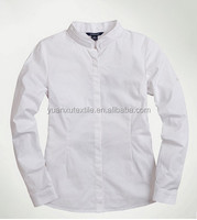 OEM school uniforms long sleeve T/C dress shirts for kids for boys school age