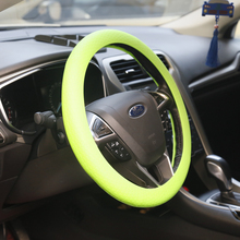 Summer Eco-friendly Rubber Candy colour Hyper-Flex Core Steering Wheel Cover
