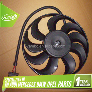 High Quality Auto Spare Parts Radiator Cooling Fan 1J0959455A 6E0959455A 1C0959455C 1C0959455M for AUDI VW