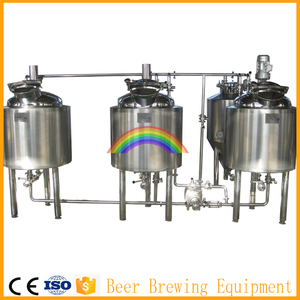Micro brewery 100L 150L 200L small beer brewing equipment for sale