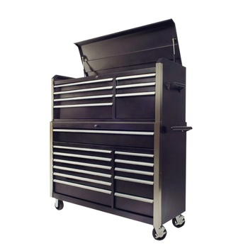 Professional 7 Drawers steel Tool box Cabinet With Tools Sets