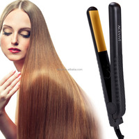 Acevivi Professional Hair Care Beauty Flat Iron Hair Straighten Styling Adjustable Temperature Black