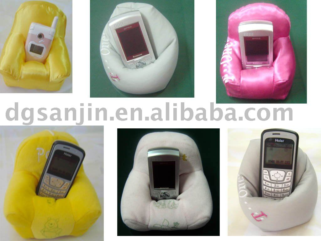 soft cushion holder for mobile phone