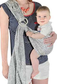 Eco Friendly Breathable Lightweight Organic Cotton Baby Carrier