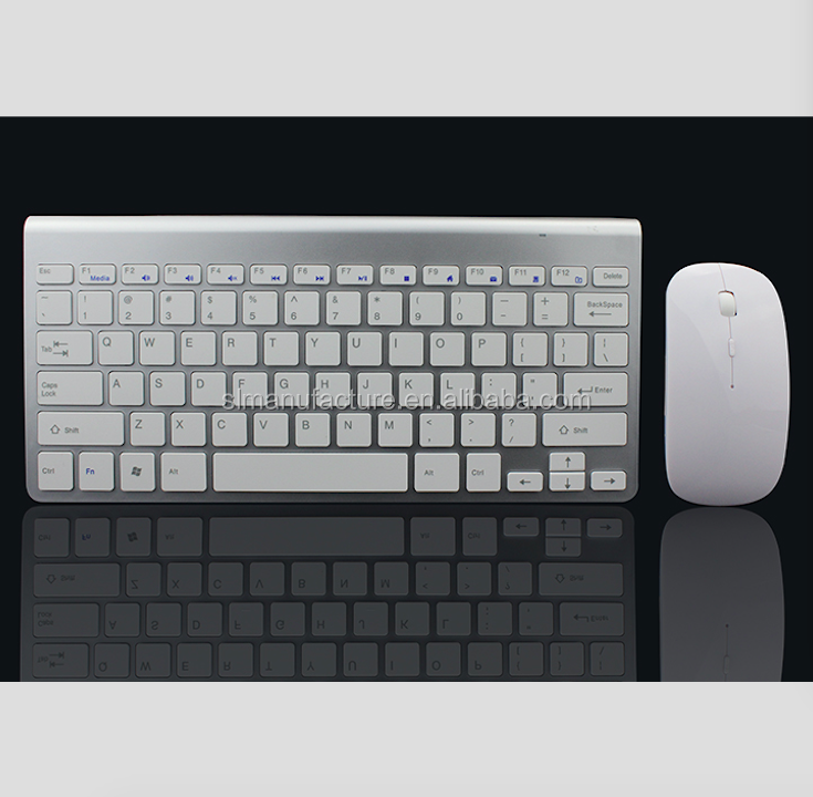 2.4GHZ wireless keyboard and mouse combo for ipad android tablet pc mini pc computer фото