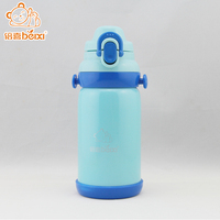 OEM welcome kids hot-water bottle+plastic water bottle with double wall+insulated stainless steel bottle