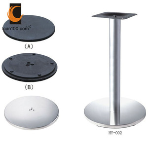 Stainless Steel Pedestal Table Base Whole Suppliers Alibaba