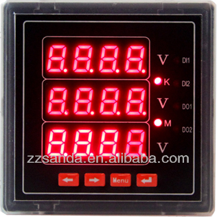 High Quality Panel Digital Output Voltmeter AC/DC Voltage Meter, View on