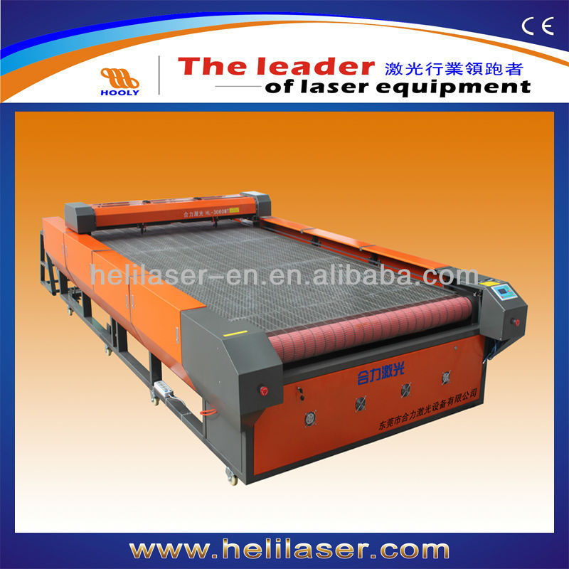 Embroidery Machine HOOLY Helilaser laser Large Format automatic feed cutter