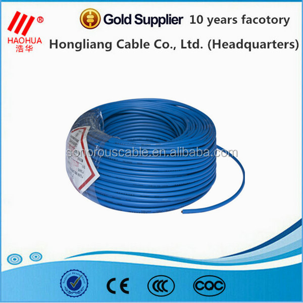 Cu/pvc Insulated Electrical Wire Of 60227,Iec 60227 Cable - Buy ...
