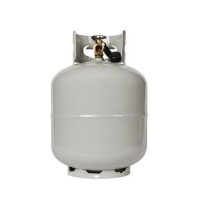 20lb propane gas cylinder with OPD valve for camping