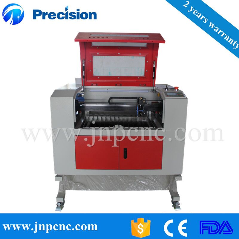 Biggest manufacturer supply laser engraving cutting plastic sheet machine 6040 600*400mm