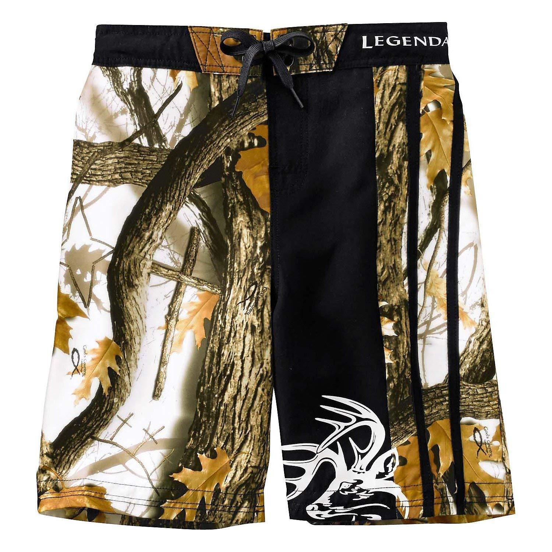 WEBALEN Camouflage Men Swimming Trunks Bathing Suit Plus Size