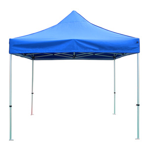 Tuoye High Quality 3x3 tent Custom Painting Ez Up Canopy Outdoor Folding  Pop Tent Marked Hexagonal Aluminium Tube Frame Pop Tent