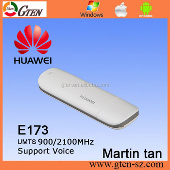 Stock Original Huawei E173 900/2100mhz Mobile Broadband Surfstick In Stock  - Buy Huawei E173 Hspa Usb Modem Support Voice,3g Usb Modem,3g Usb