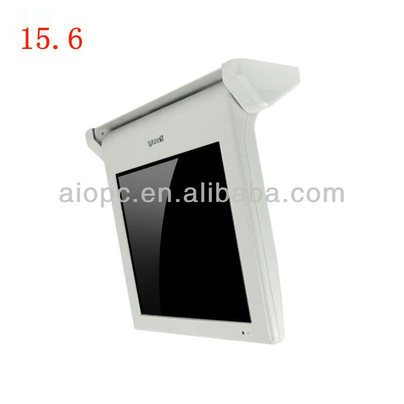 17 Inch Wifi/3G Network Bus Digital LCD Advertising Screen